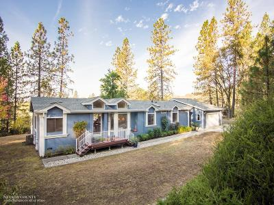 Grass Valley CA Single Family Home For Sale: $484,000