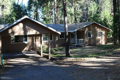 Nevada City Single Family Home For Sale: 12932 Quaker Hill Cross Road