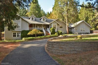 Grass Valley Single Family Home For Sale: 18486 Spring Valley Drive
