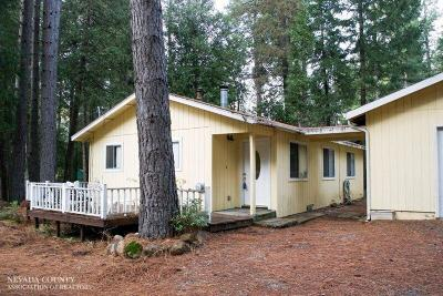 Nevada City Single Family Home For Sale: 15614 Cascade Loop Drive