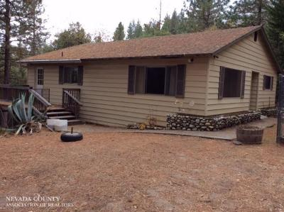 Grass Valley Single Family Home For Sale: 11849 Pine Cone Circle