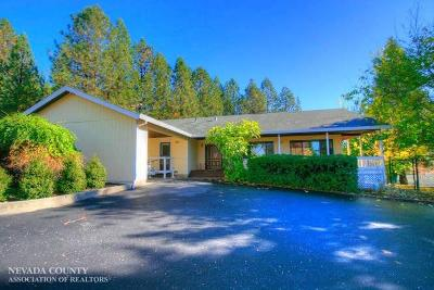 Nevada County Single Family Home For Sale: 19131 Wild Oak Road