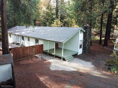 Nevada City CA Single Family Home For Sale: $375,000