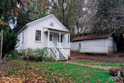 Nevada City CA Single Family Home For Sale: $309,000