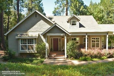 Nevada City Single Family Home For Sale: 16706 Hardy Way