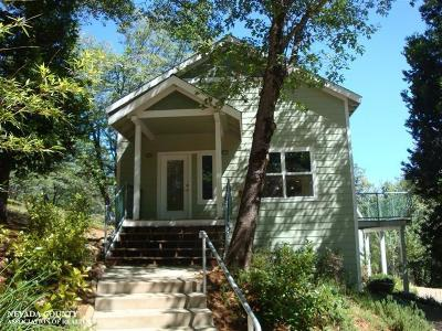 Nevada City CA Single Family Home For Sale: $575,000