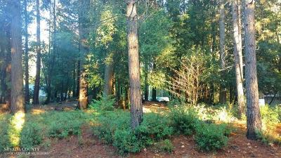 Nevada City CA Residential Lots & Land For Sale: $59,000