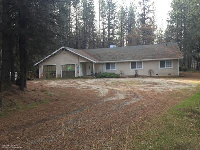 Nevada County Single Family Home For Sale: 14530 Lynshar Road