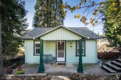 Grass Valley Single Family Home For Sale: 117 Wood Street