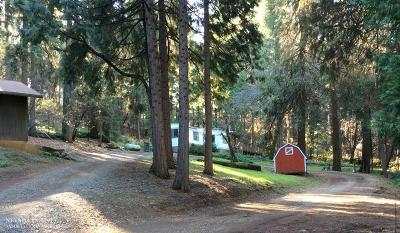 Nevada City CA Single Family Home Pending: $209,000