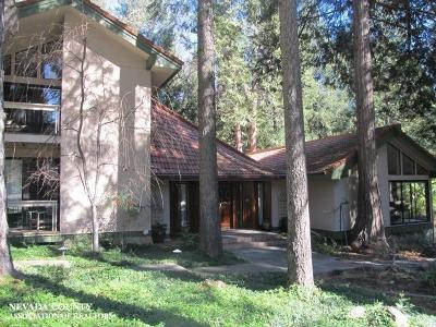 Nevada City CA Single Family Home For Sale: $759,000