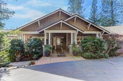 Nevada City CA Single Family Home For Sale: $839,000