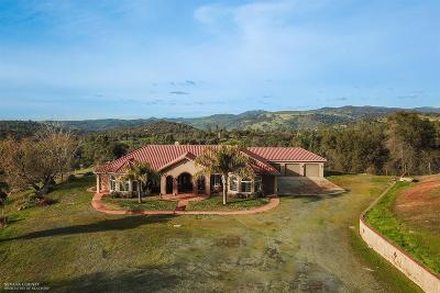 Butte County, Nevada County, Placer County, Sacramento County, Sierra County, Sutter County, Yuba County Single Family Home For Sale: 8645 Big Oak Valley Road