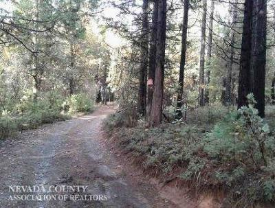 Nevada City Single Family Home Active REO: 17347 Sunrise Road