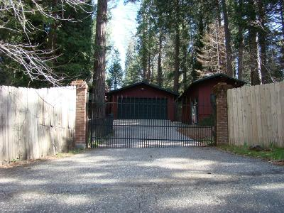 Nevada City Single Family Home For Sale: 11997 Crystal Wells Road