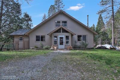 Nevada City Single Family Home For Sale: 28662 New School Road