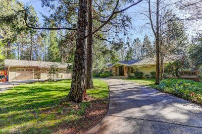 Grass Valley Single Family Home For Sale: 13900 Dalmatian Drive