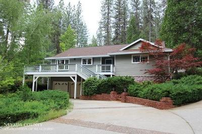 Grass Valley Single Family Home For Sale: 14046 Dalmatian Drive