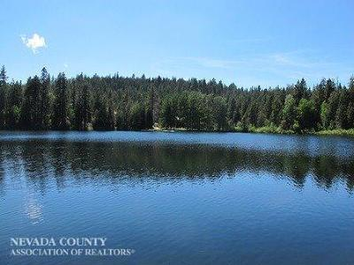 Nevada County, Placer County Single Family Home For Sale: 12700 Crystal Lake Road