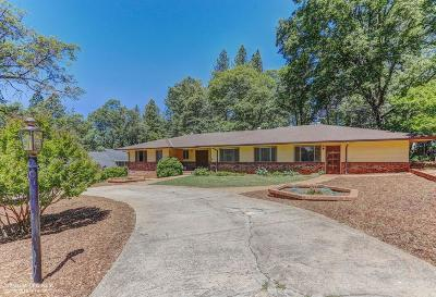 Grass Valley Single Family Home For Sale: 10360 Kenwood Drive