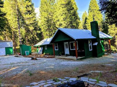 Nevada City Single Family Home For Sale: 18545 Cruzon Grade Road
