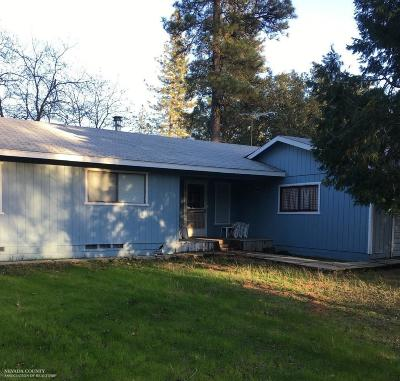 Nevada County Single Family Home For Sale: 20391 Starlight Lane