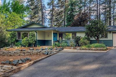 Grass Valley Single Family Home For Sale: 874 Forest Glade Circle