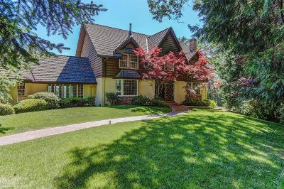 Nevada City Single Family Home For Sale: 10966 Cement Hill Road