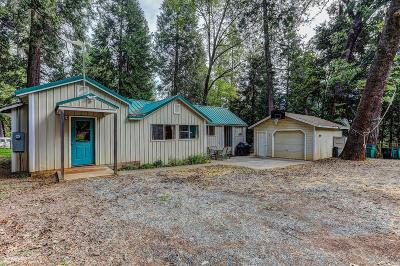 Nevada City Single Family Home For Sale: 10207 Cedro Road