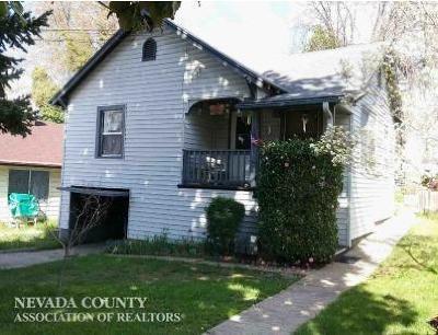 Grass Valley Single Family Home Active Short Sale: 395 Clark Street