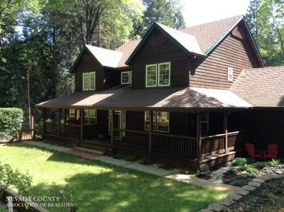 Grass Valley Single Family Home For Sale: 13800 Colfax Highway