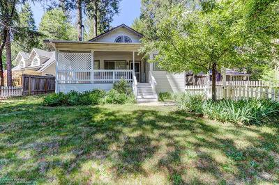 Nevada City Single Family Home For Sale: 12558 Valley View Road