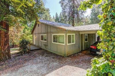 Nevada City Single Family Home For Sale: 10038 Banner Lava Cap Road