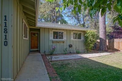 Nevada County Single Family Home For Sale: 11810 Tammy Way