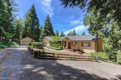 Nevada City CA Single Family Home For Sale: $615,000