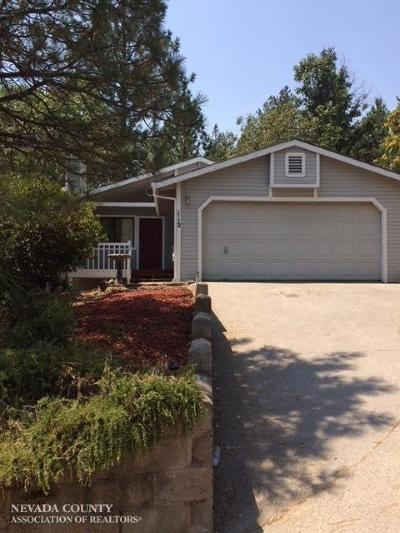 Grass Valley Single Family Home For Sale: 112 Celesta Drive