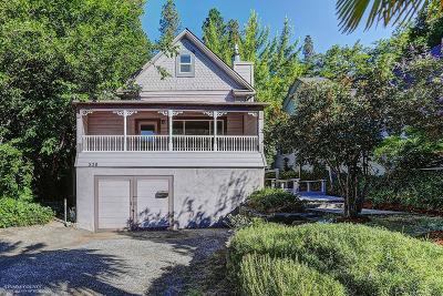 Grass Valley Single Family Home For Sale: 520 Mill Street