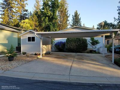 Grass Valley CA Mobile/Manufactured Pending: $132,900