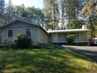 Nevada County Single Family Home For Sale: 11547 Marilyn Court
