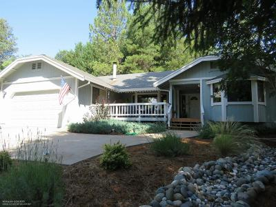 Nevada County Single Family Home For Sale: 11534 Bernadine Court