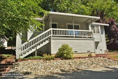 Grass Valley Single Family Home For Sale: 444 Mill Street