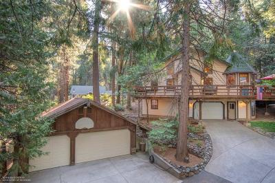 Nevada City Single Family Home For Sale: 15400 Cascade Drive
