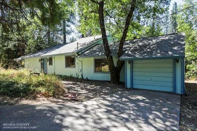 Grass Valley Single Family Home For Sale: 10481 Crestview Drive