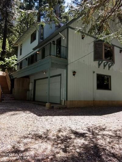 Nevada City CA Single Family Home For Sale: $339,000