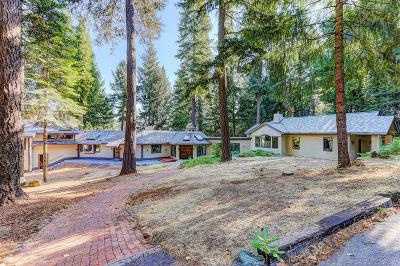 Nevada City Single Family Home For Sale: 10901 Mill Springs Road