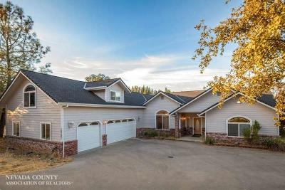 Rough and Ready Single Family Home For Sale: 10282 N Ponderosa Way