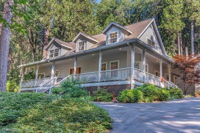Nevada City Single Family Home For Sale: 14414 Banner Lava Cap Road