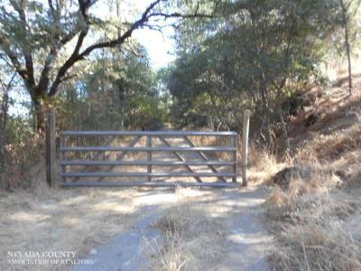 Grass Valley CA Residential Lots & Land For Sale: $88,000