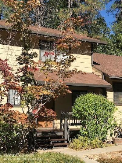 Nevada City Condo/Townhouse For Sale: 350 Gracie Road