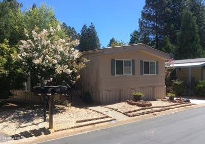 Grass Valley CA Mobile/Manufactured Pending: $54,000